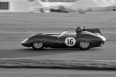 1959 Tojeiro Jaguar 3781cc James Jeremy Cottingham BW 2