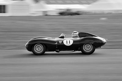 1956 Jaguar D Type Derek Bell BW