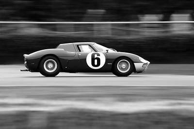 1964 Ferrari 250 LM Derek Bell Emanuele Pirro - Goodwood Revival 2015
