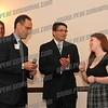Hon. Felix Catena and Chairman Joe Emanuele congratulate AHS senior Sarah Bellardini for singing of the National Anthem