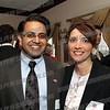 Kris Singh and Tina Emanuele