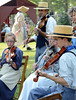 The Goschenhoppen Fiddlers perform during the Goschenhoppen Historians' 48th annual Folk Festival on Friday August 8,2014. Photo by Mark C Psoras