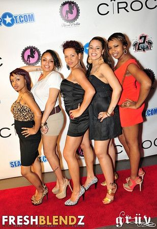 """2011-05-21 Ciroc Red Berry """"Big Red"""" Party Red Carpet Pics"""
