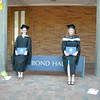Me and Alison with the Bond Hall sign.