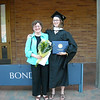 Mom and Me in front of Bond Hall.