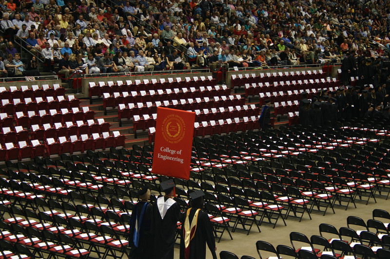 Brady's Graduation from Iowa State University ( 2014 )