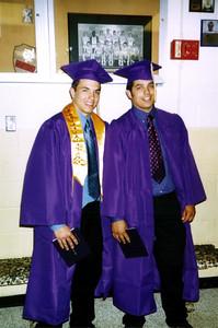 Cory and Shane at graduation