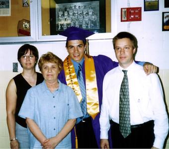 Lori, Kay, Cory and Todd at graduation