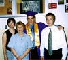 Lori, Kay, Cory and Todd at graduation
