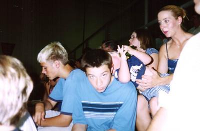 Alex, Brady, Nicole, Wyatt and Angie at graduation