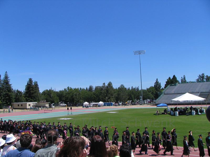 Graduation ceremony.