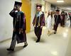 6/25/2013 Mike Orazzi | Staff<br /> Bristol Central High School graduates at Bristol Central on Tuesday night in Bristol.
