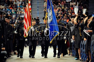 5/17/2014 Mike Orazzi | Staff The CCSU graduation ceremony at the XL Center in Hartford Saturday.