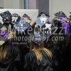 5/25/2017 Mike Orazzi | Staff<br /> Tunxis  Community College graduates show off their caps at the Forty-sixth Commencement Thursday evening in Farmington.