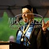 5/25/2017 Mike Orazzi | Staff<br /> Tunxis Community College President Dr. Cathryn Addy during the Forty-sixth Commencement on a rainy Thursday evening in Farmington.