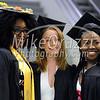 5/20/2017 Mike Orazzi   Staff<br /> Ivie Efianayi, Casey Simoncelli and Yawavi Kafui Simpini while at CCSU's graduation Saturday morning at the XL Center in Hartford.