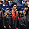 5/20/2017 Mike Orazzi   Staff<br /> Julie Hussey (center) at the XL Center in Hartford for CCSU's graduation Saturday morning.