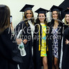 5/20/2017 Mike Orazzi   Staff<br /> Sydney Cassone, Marissa Donovan, Sabrina Labadia and Kayla Maruca while at CCSU's graduation Saturday morning at the XL Center in Hartford.