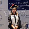 5/20/2017 Mike Orazzi   Staff<br /> Brittney Mills at the the XL Center in Hartford for CCSU's graduation Saturday morning.