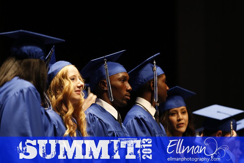 Summit High School Graduation at the MISD Center for the Performing Arts in Mansfield, Texas on June 8, 2013. Photos by Sharon Ellman
