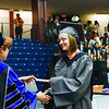 Brookdale Community College held a morning and an afternoon commencement in the Collins Arena on the campus in Lincroft, NJ on Friday, May 15, 2015. /Russ DeSantis Photography and Video, LLC