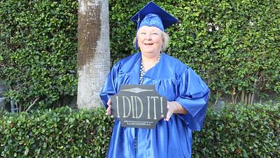 Chalk board photos - Spring Graduation 2015