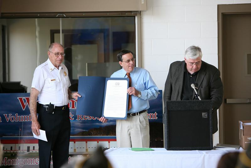 Elliston Volunteer Fire Department Grand Opening - Delegate Dave Nutter