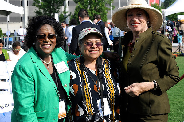 Center for Civil and Human Rights Museum VIP breakfast and grand opening celebration.