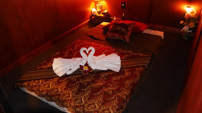 Thai massage will relax and restore.