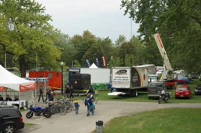 Installation Technique TV Grand Prix de Cycliste de Mtl 2010