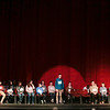 Special to the Record-Eagle/ Keith King<br /> Aiden Carver spells a word Sunday during the 2018 Grand Traverse Regional Spelling Bee at the State Theatre in Traverse City.