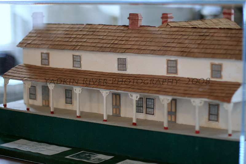 Grant Burrus Hotel, Rockford North Carolina, park , model