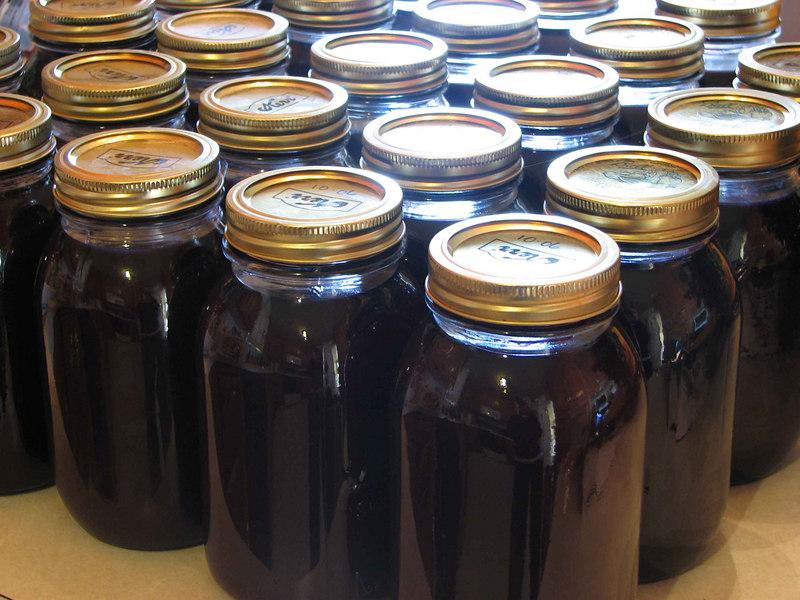 Our record harvest -- 25 quarts!