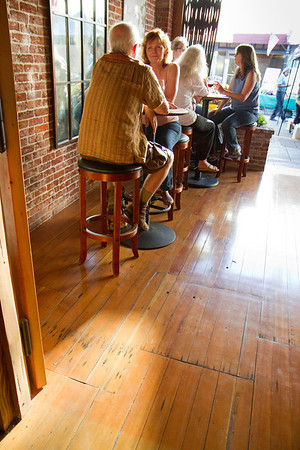 Bunces was the outdoor watering hole on Mill Street.  Now it's a wine tasting bar.