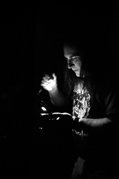 """""""Matt Moniz in the Machine Shop""""<br /> April 21st, 2012"""