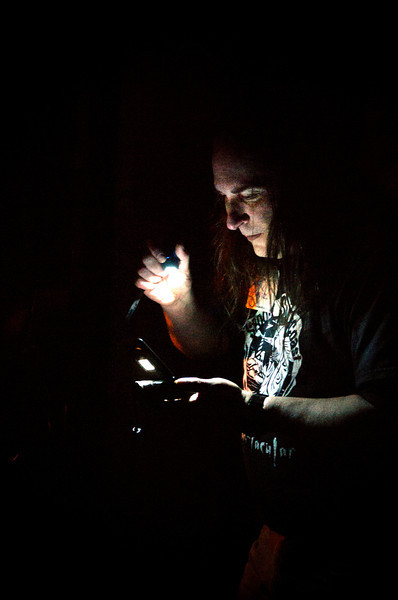 """Matt Moniz in the Machine Shop""<br /> April 21st, 2012"
