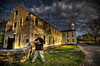 """Time Weisberg of Spooky Southcoast and Legend Trips""<br /> April 21st, 2012<br /> At the Legend Trips Graveyard Shift Event at Slater Mill<br /> Pawtucket, RI"