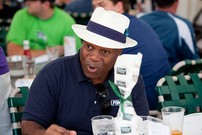 Seattle Mariners Announcer Dave Sims