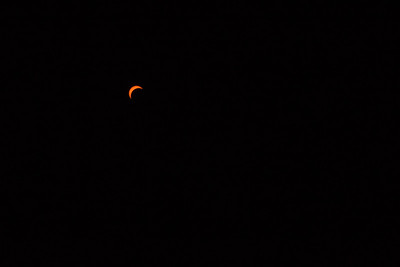 My View of The Eclipse From My Backyard