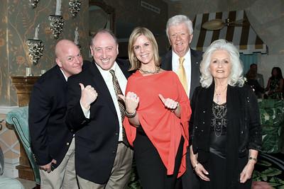 IMG_4533 Jim Robinson,Charlie Shapiro, Missy & Dick Robinson & Lady Helen Spaneas