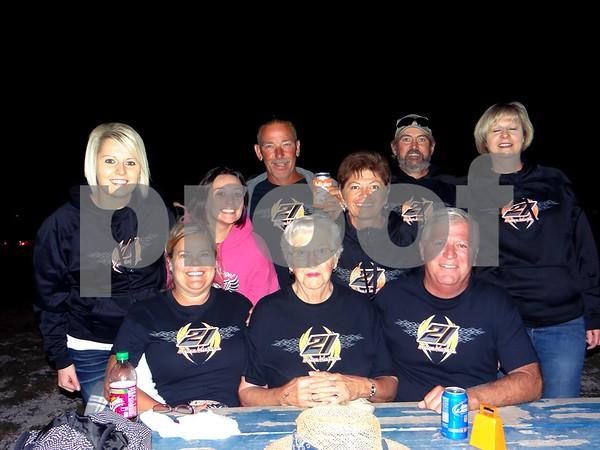 Carol Harrison, Keith Harrison, Karen Harms, Terry Michehl, Carly Hewitt, Alyssa Harrison, Gorden Cassen, Marguerite Cassen and Judy Cassen.