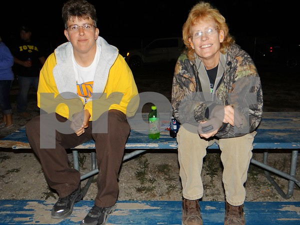 Debbie Mabe and Becky Bruns.