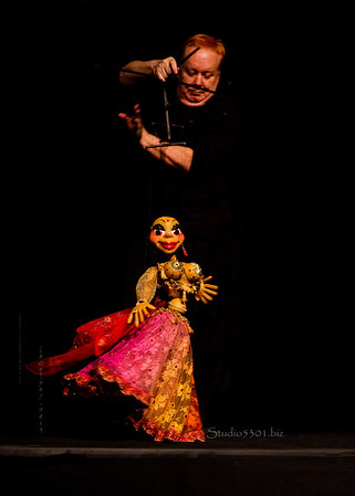 dancer puppet 7191
