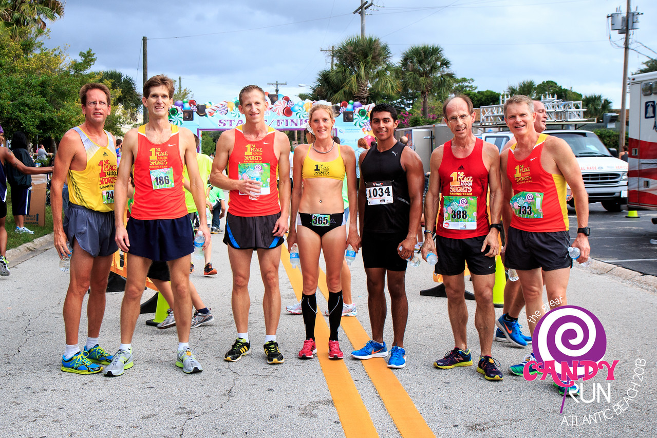 The Great Candy Run 2013.  Photograph: James Vernacotola