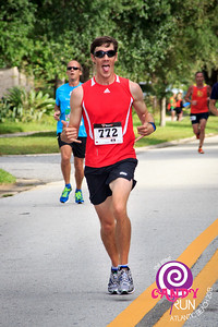 The Great Candy Run 2013.  Photograph: Kelly Morrell