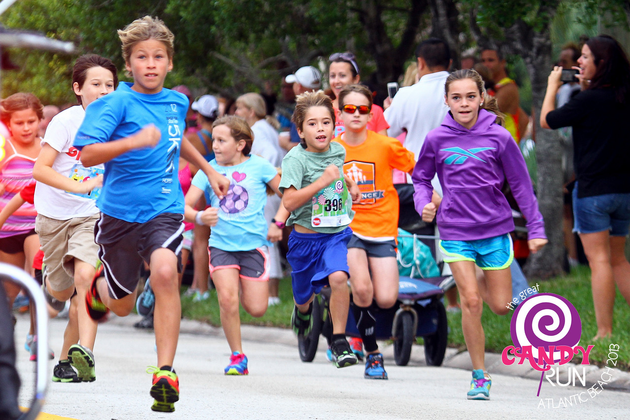 The Great Candy Run 2013.  Photograph: Eddie Pitts