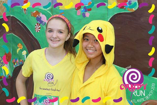 The Great Candy Run 2013, Atlantic Beach, Florida.  Photograph: Erica Lee & Erica Summers -