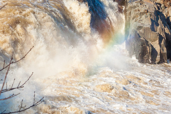 Rainbow in The Falls