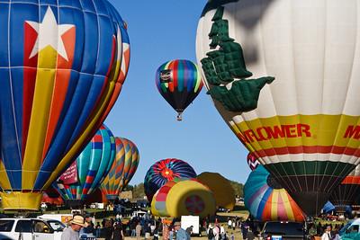 Mass Ascension, Reno Balloon Races, Fri 9/5/08