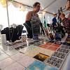 Susana Mongeiro sells jewlery at the annual Greek Festival was held at Holy Trinity Greek Orthodox Church on Saturday afternoon. SENTINEL & ENTERPRISE / Ashley Green